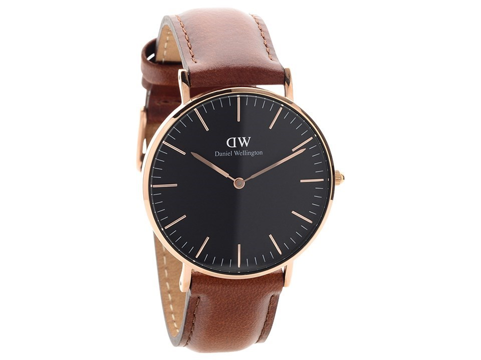 daniel wellington dw00100136 classic st mawes brown leather strap watch w8875 f hinds jewellers. Black Bedroom Furniture Sets. Home Design Ideas