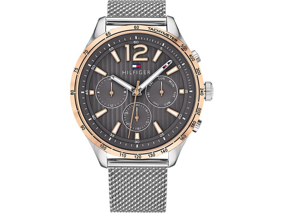 95a04cea Tommy Hilfiger 1791466 Gavin Two Tone Mesh Bracelet Watch - W95117 ...