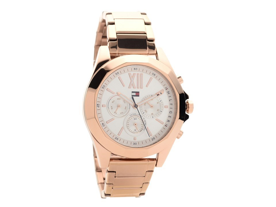 tommy hilfiger 1781847 chelsea rose gold plated multi dial bracelet watch w9597 f hinds. Black Bedroom Furniture Sets. Home Design Ideas