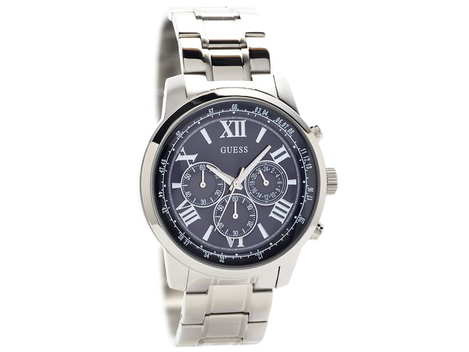Guess W0379G3 Horizon Stainless Steel Chronograph Bracelet ...