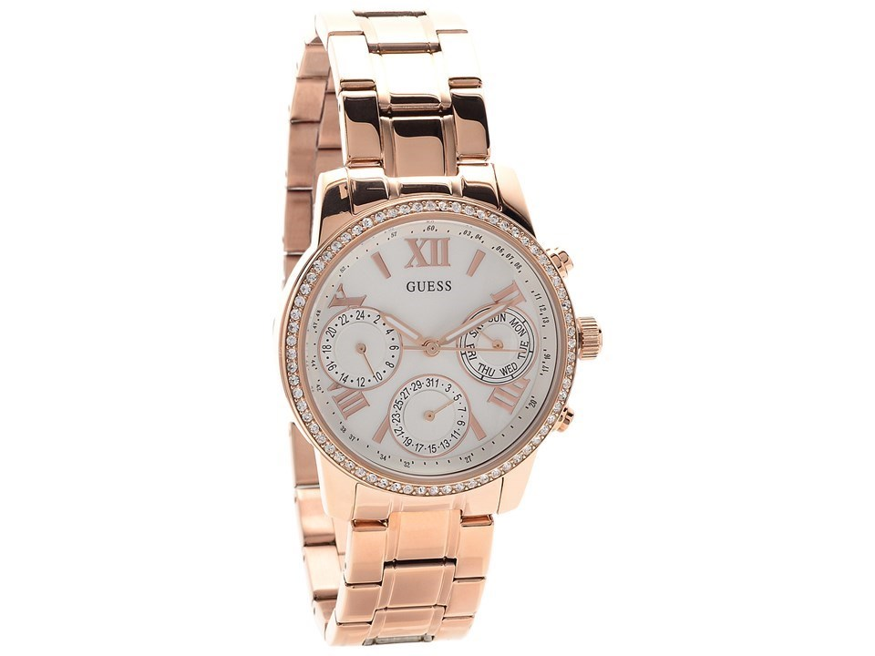 guess w0623l2 mini gold plated set