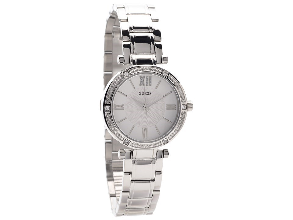 6aa416ccdb00 Guess W0767L1 Park Avenue South Stainless Steel Bracelet Watch ...