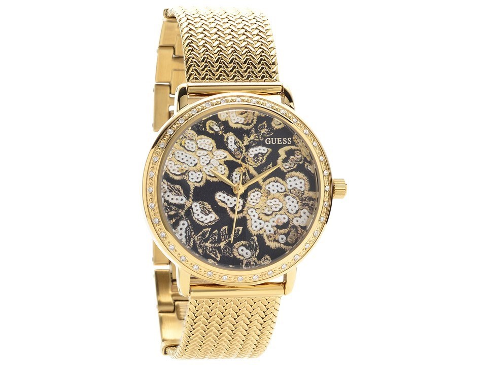 guess w0822l2 willow gold plated set w9830