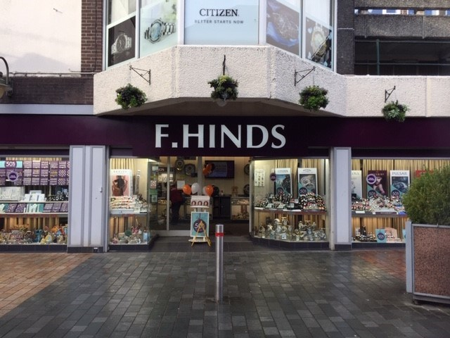 F hinds the jewellers merthyr tydfil jewellery and watch shop for In home design merthyr